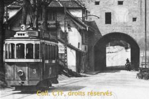 Vers 1912 - première transformation des plateformes.