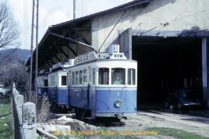 Avril 1964 - Au dépôt des Charmettes