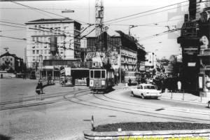 Entre 1963 et 1965 - place de la Gare (Coll. CTF, DR)