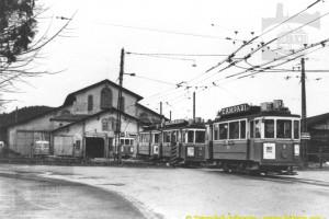 Hiver 1964-1965 - Engagement d'heure de pointe à Pérolles (Coll. CTF, DR)