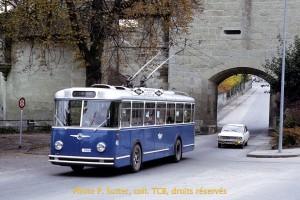 16.10.1971 - Saurer no 40 encore brillant ! (Photo Sutter, collection TCB)