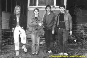 1990 - Découverte de la 9 à Lamastre par les membres fondateurs du CTF (collection CTF)