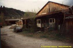 Mars 1994 - visite du tram 9 à Lamastre (Coll. CTF)