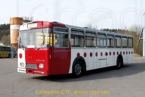 29.03.2003 -  L'autobus Volvo-Hess B58 ex-TPF 363, encore en livrée TPF (photo TP)