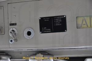 Trolleybus 34 - commande de la girouette avant