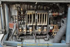 Trolleybus 34 : élèctromécanique Sécheron