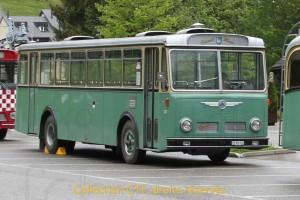 """24.05.2014 - Autobus ex-GFM 33 """"Grand-mère"""" (Saurer 5-DUK de 1966) Photo C.Eugster"""