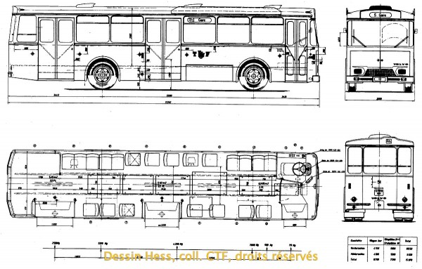 Volvo B58 TF dessin