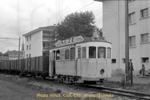 1974 - Le tram 1 à Châtel-St-Denis