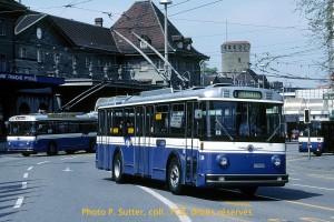 Trolleybus Saurer entre 1990 et 1995