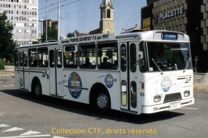 Juillet 1997 - La 63 annonçait les 100 ans des TF (Photo T. Portmann, DR)