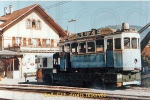 Oct. 1977 - Châtel St-Denis - Départ pour Paris