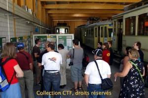 31.07.2011 - Visite du musée du tram de l'ANAT