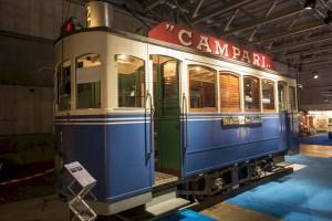 09.10.2015 - Le tram 1 présenté à la Foire de Fribourg