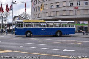 Apparition furtive de la 63 en bleu