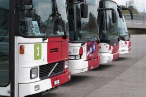 Occasion unique... 4 générations de trolleybus articulés